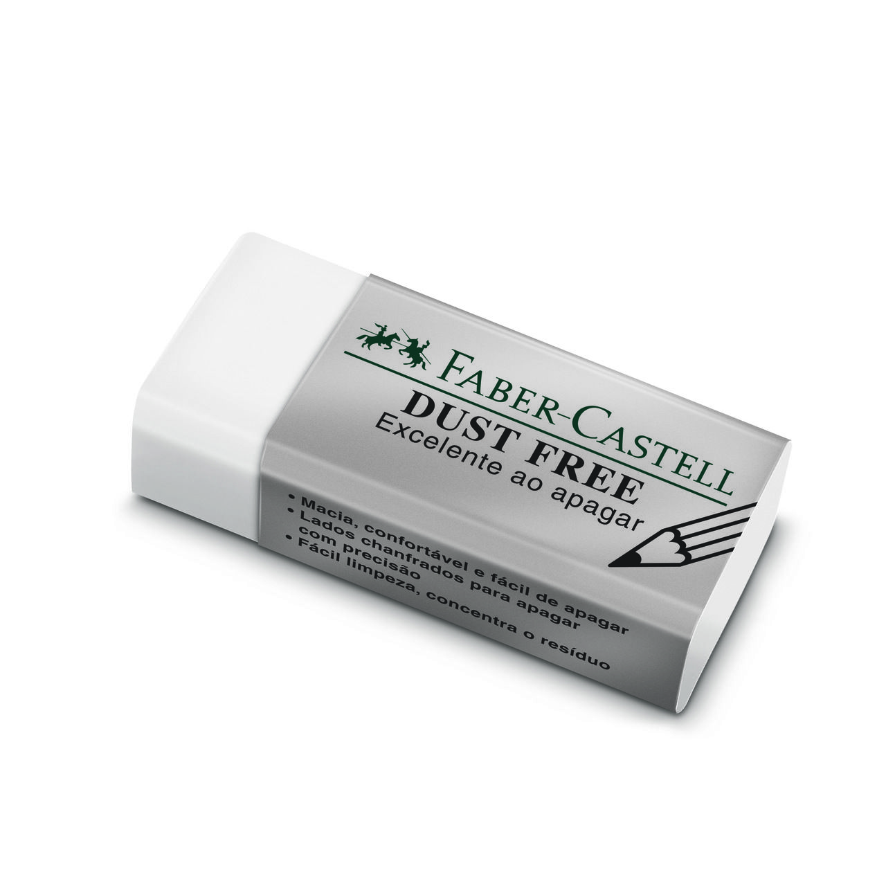 Borracha branca pequena DUST FREE Faber-Castell