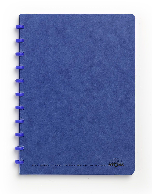 Caderno A4 72 fls azul KARTOON Atoma