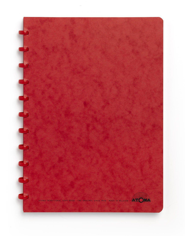 Caderno A4 72 fls vermelho KARTOON Atoma