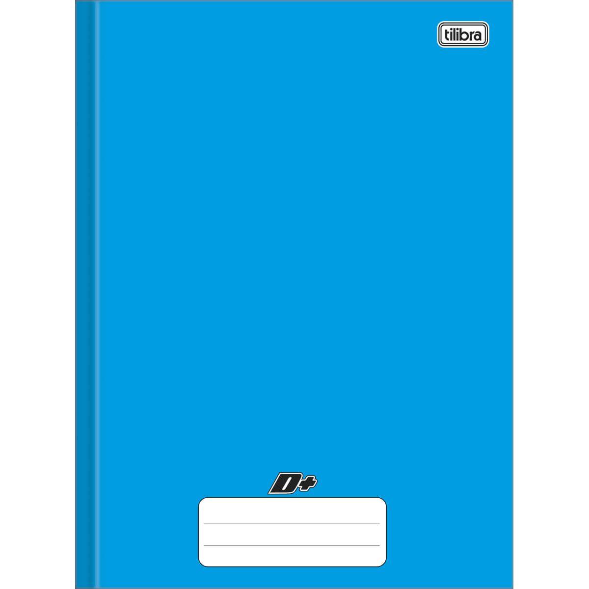 Caderno brochura 1/4 48 fls azul D+ Tilibra