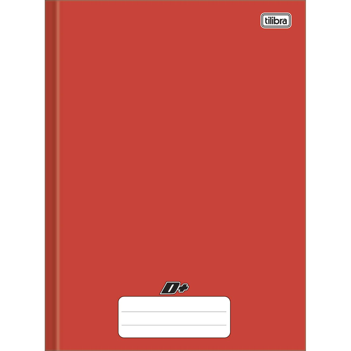 Caderno brochura 1/4 48 fls vermelho D+ Tilibra