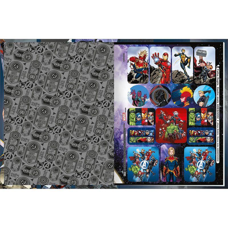 Caderno brochura 48 fls avengers Tilibra
