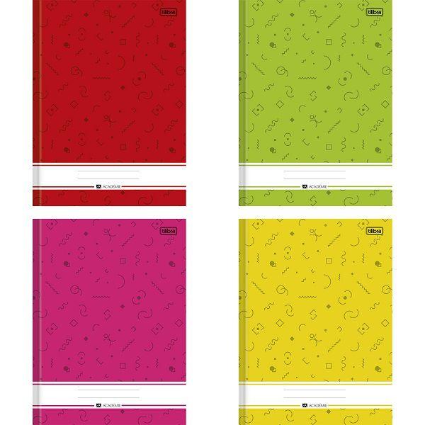 Caderno brochura 80 fls Academie graf Tilibra