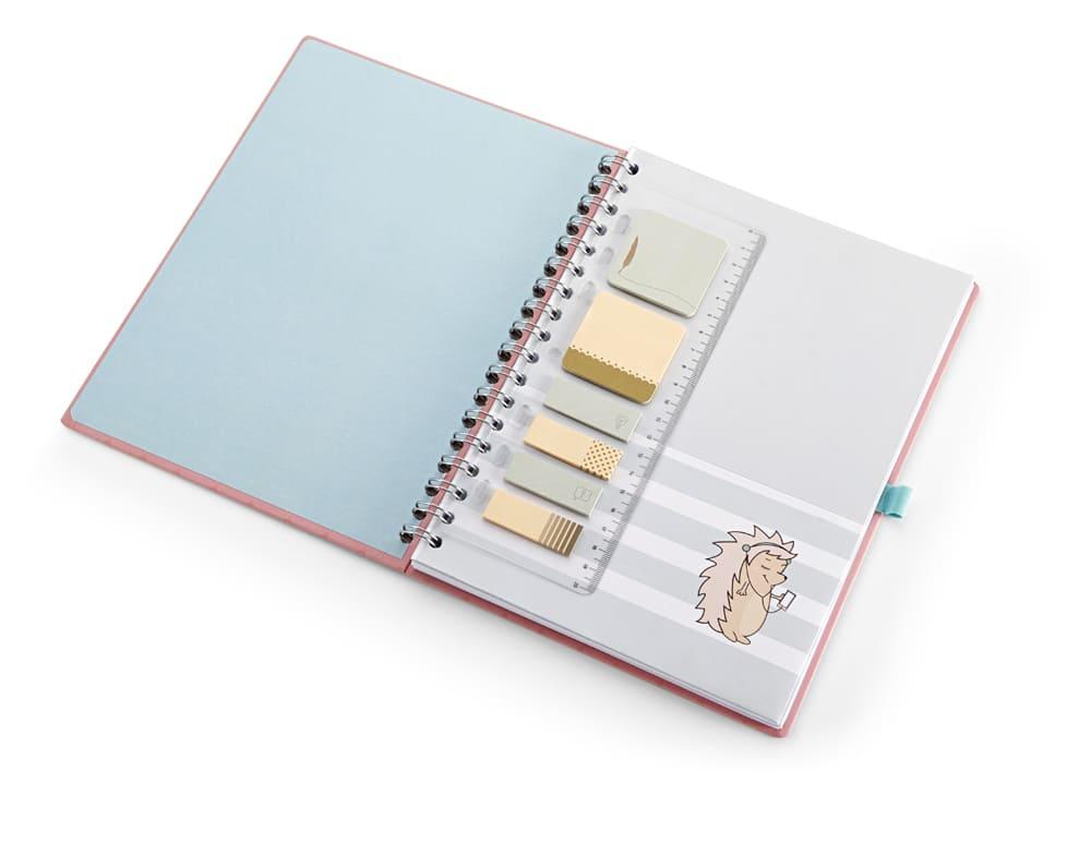 Caderno ultra Riccio laranja 90 fls Ótima