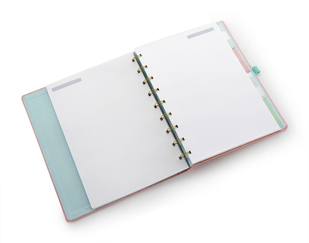Caderno ultra Riccio LL laranja 60 fls Ótima