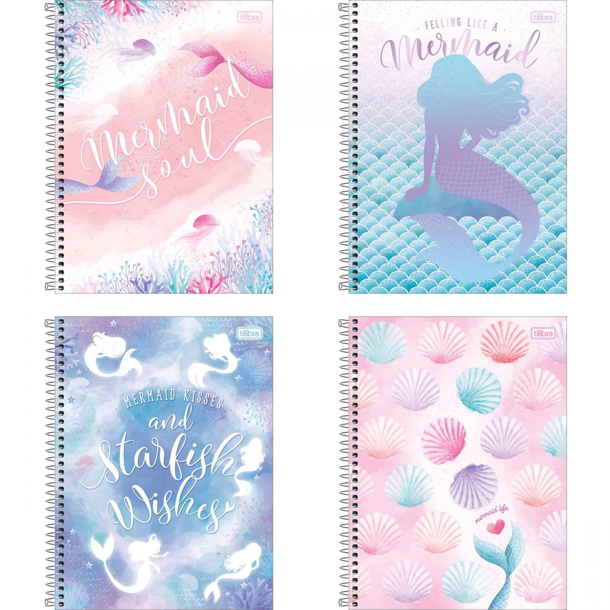 Caderno universitário 1 matéria 80 fls Wonder Tilibra