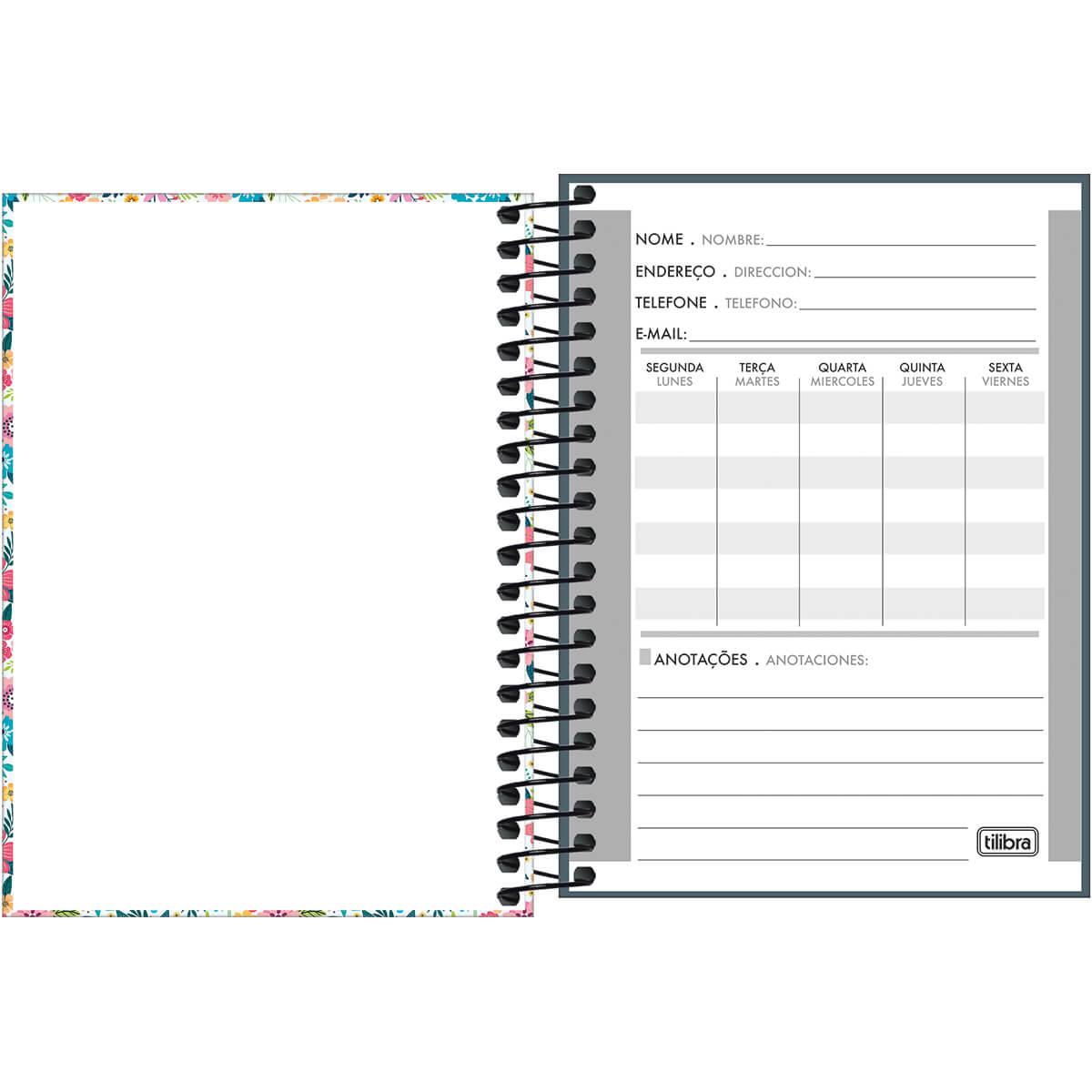 Caderno universitário 20 matérias 400 fls D+ MASCULINO Tilibra