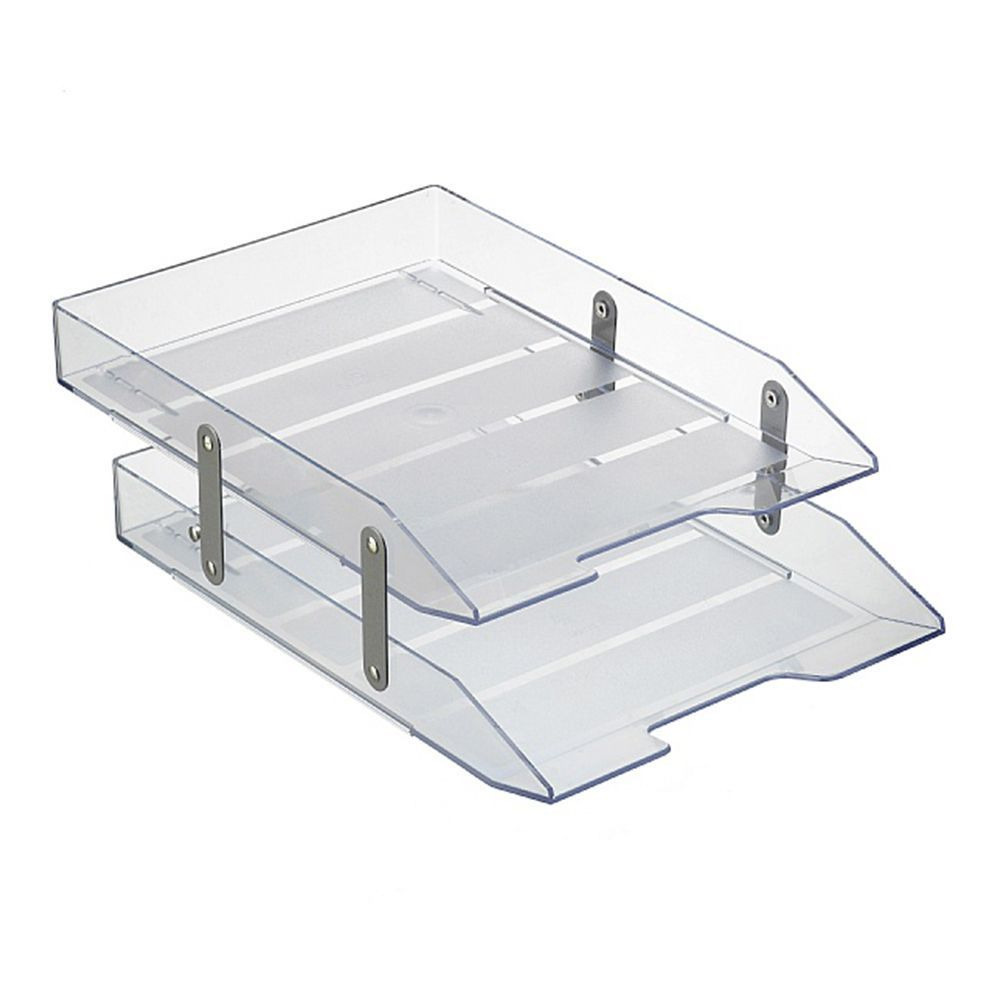 Caixa correspondência dupla articulável cristal Acrimet