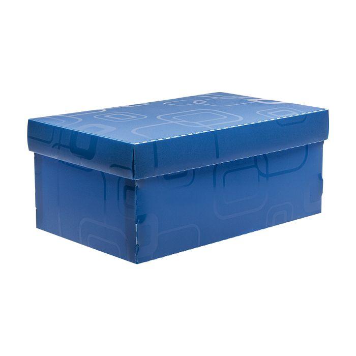 Caixa de sapato azul Dello
