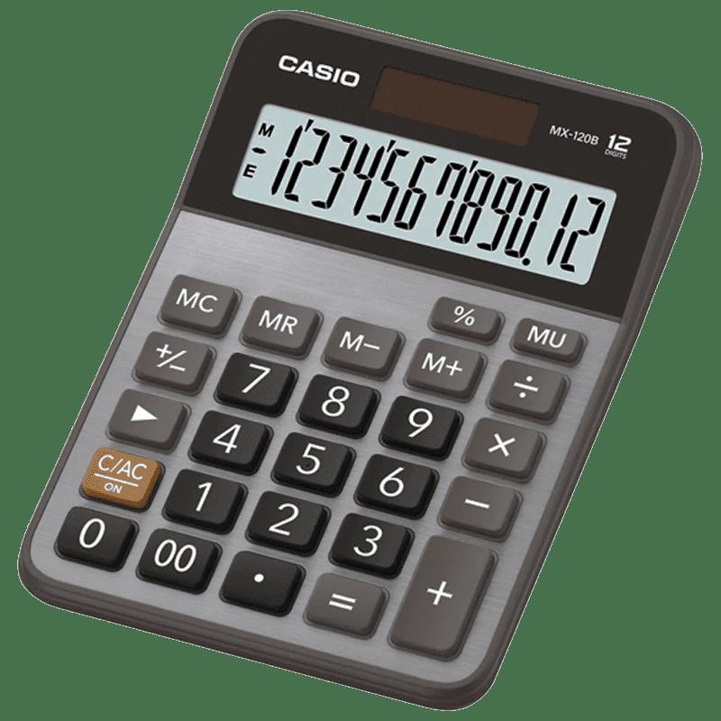 Calculadora 12 dígitos MX-120B Casio