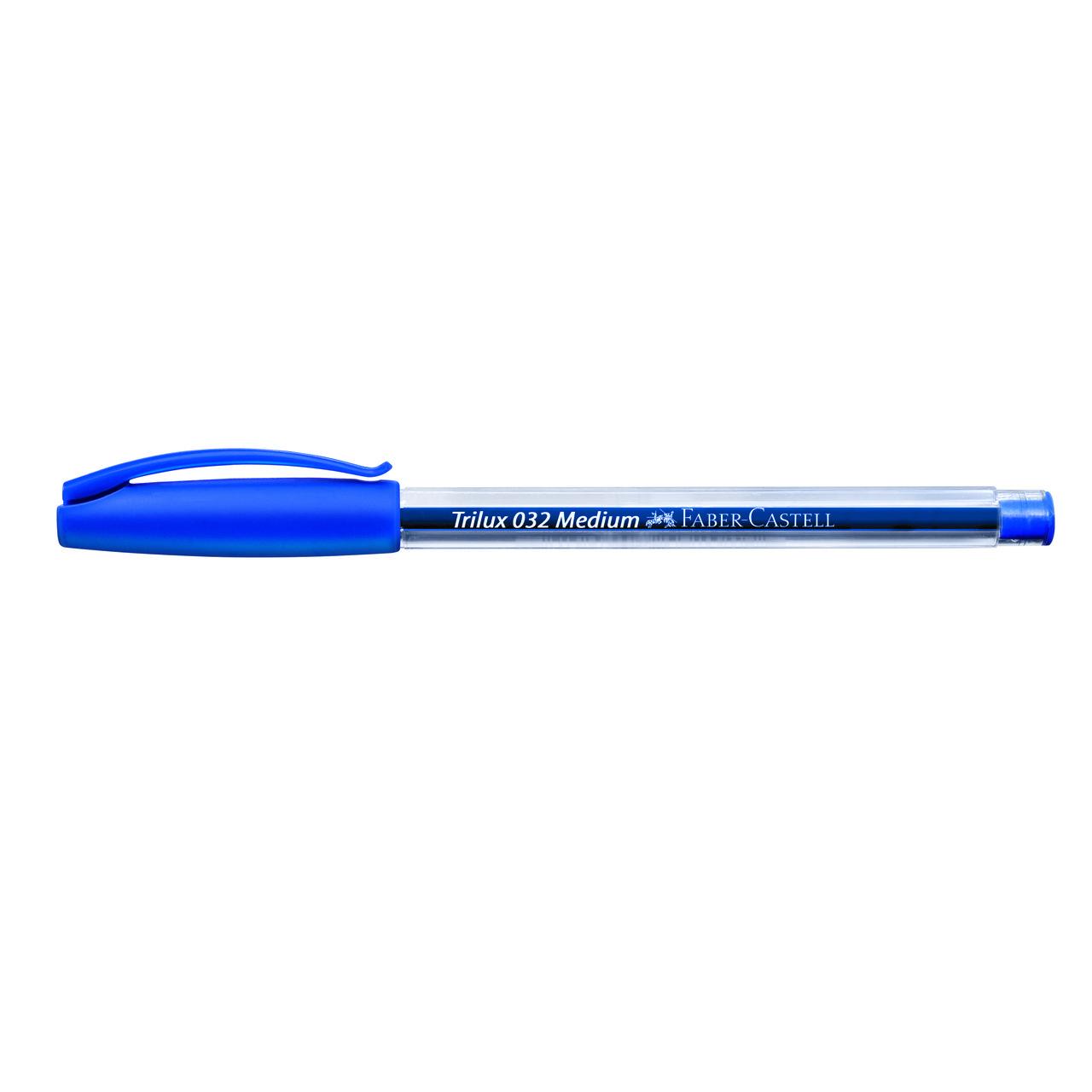 Caneta esferográfica 1.0 azul TRILUX Faber-Castell