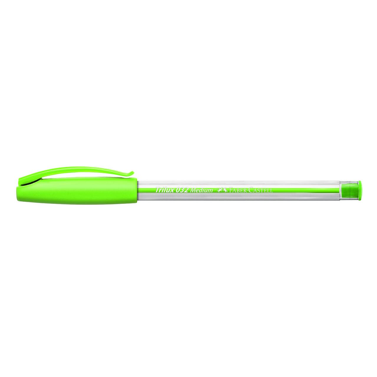 Caneta esferográfica 1.0 verde claro TRILUX Faber-Castell
