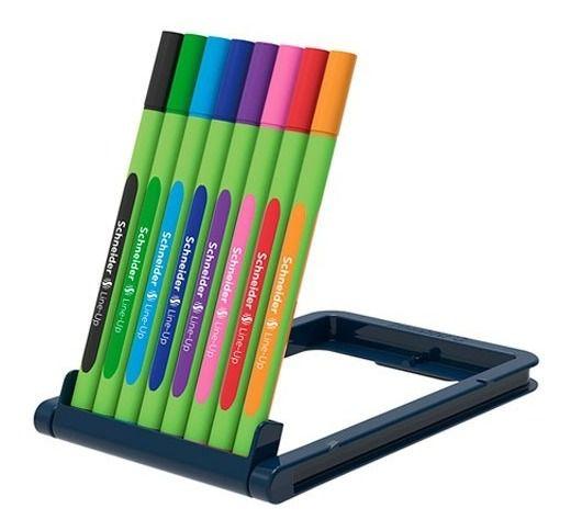 Caneta Hidrográfica 0.4 8 cores LINE-UP Schneider