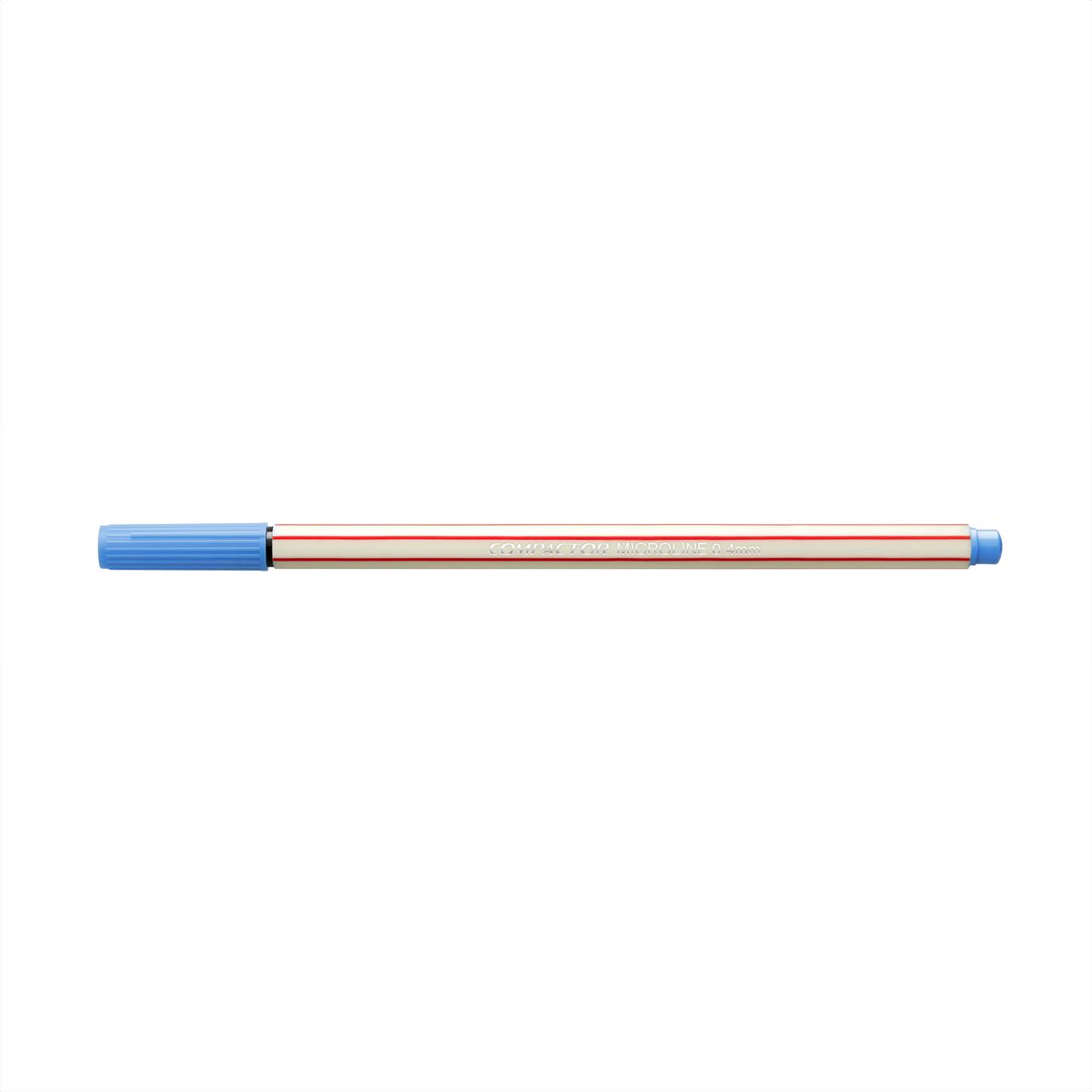 Caneta Hidrográfica 0.4 azul claro MICROLINE Compactor