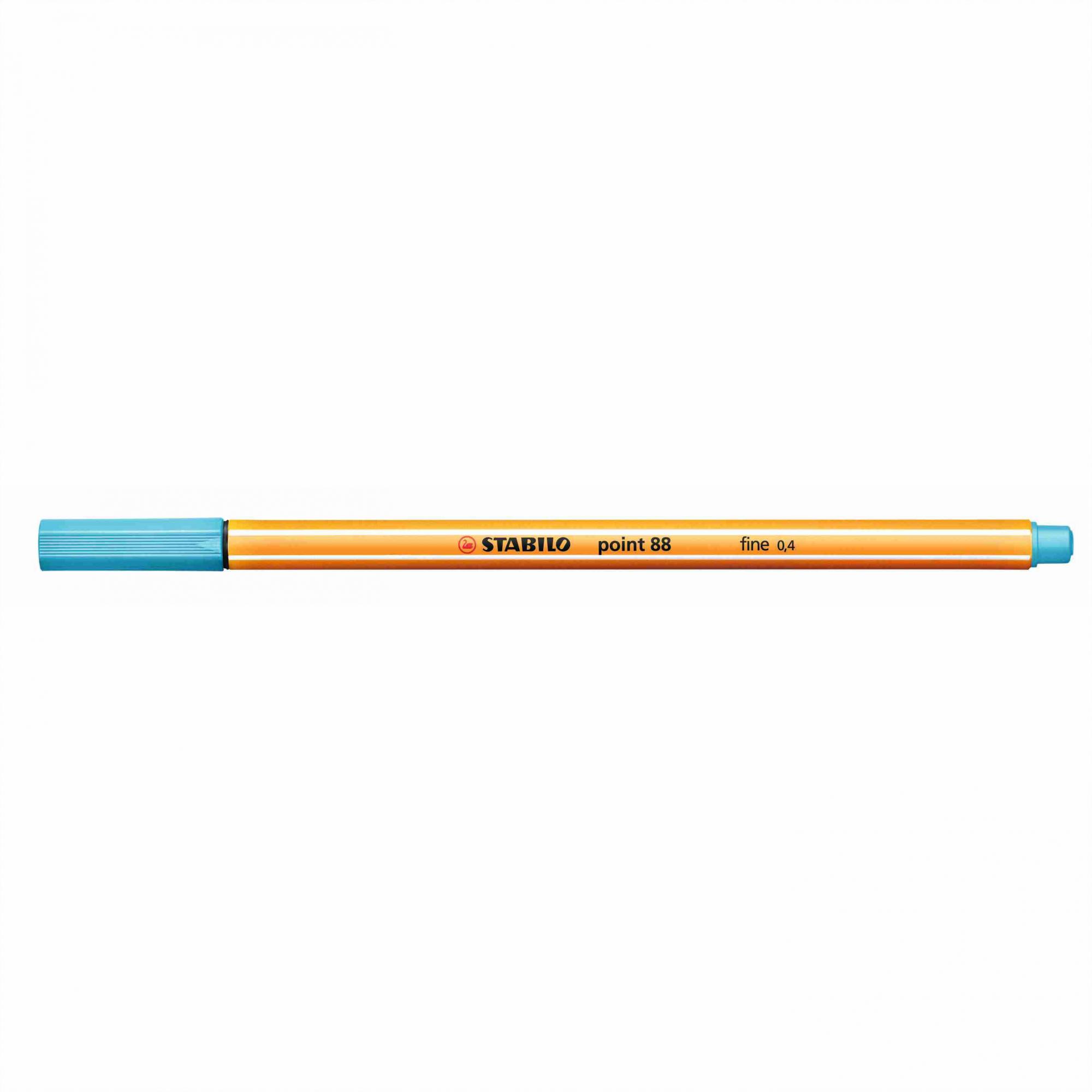 Caneta Hidrográfica 0.4 azul claro POINT 88 Stabilo