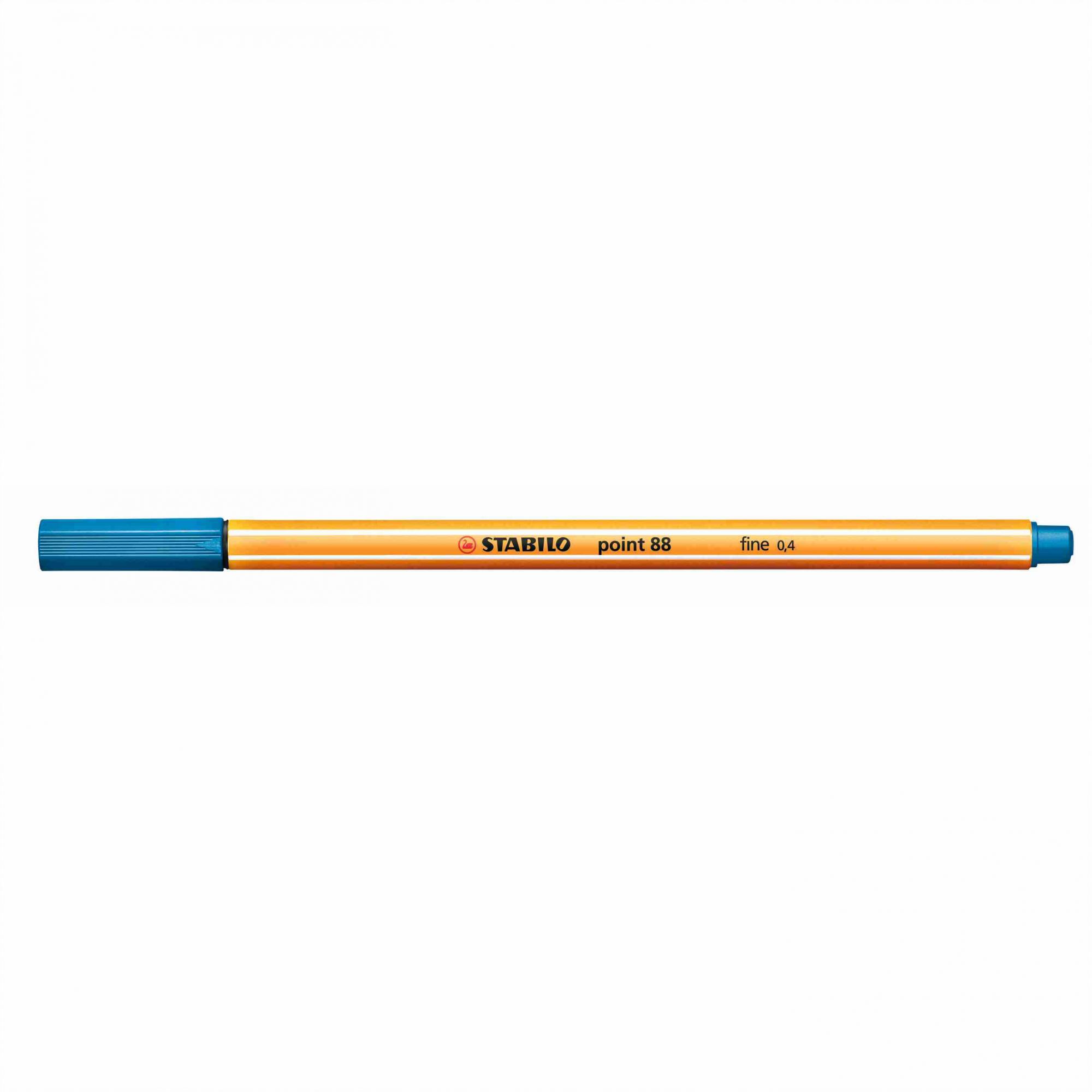 Caneta Hidrográfica 0.4 azul royal POINT 88 Stabilo