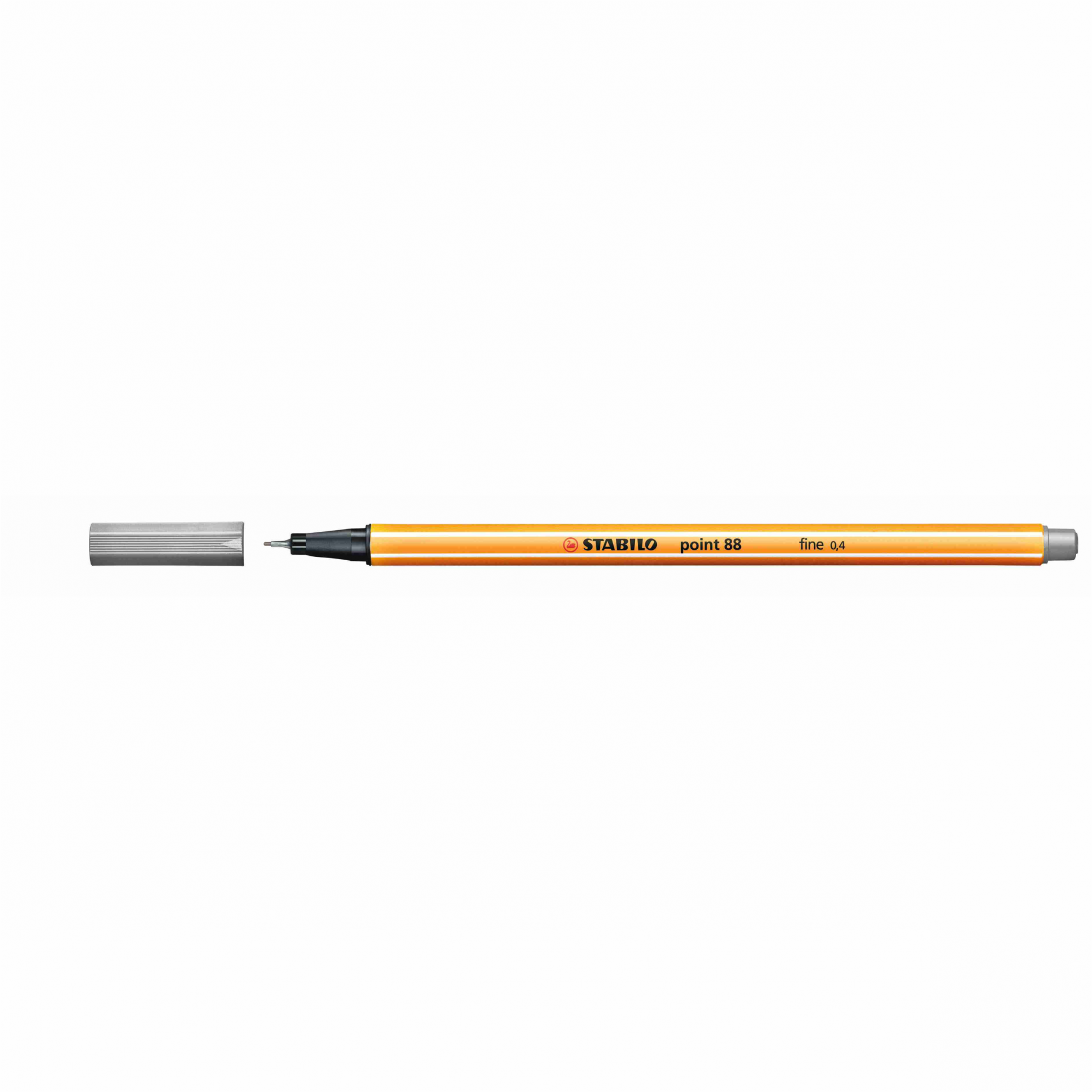 Caneta Hidrográfica 0.4 cinza claro POINT 88 Stabilo