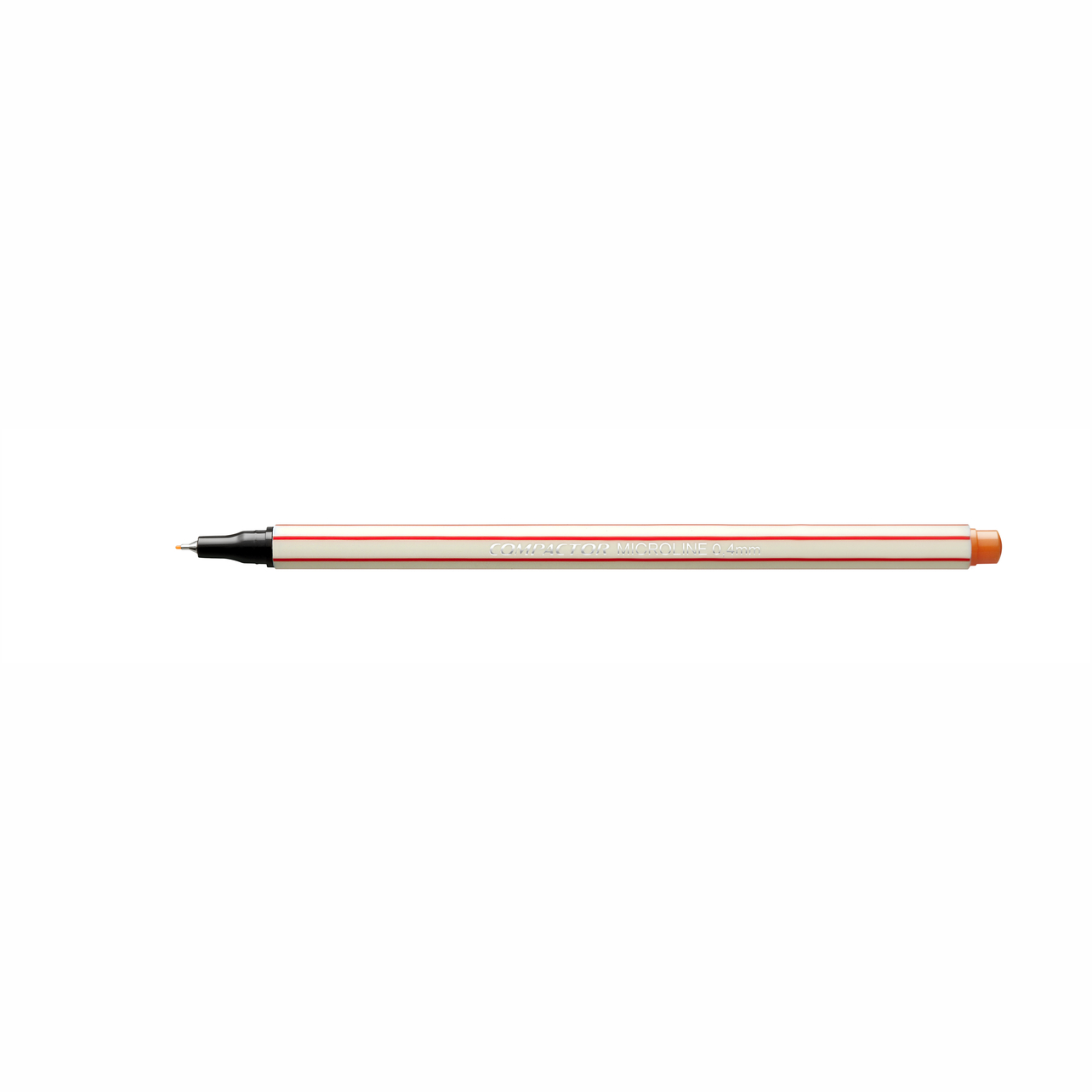 Caneta Hidrográfica 0.4 laranja MICROLINE Compactor
