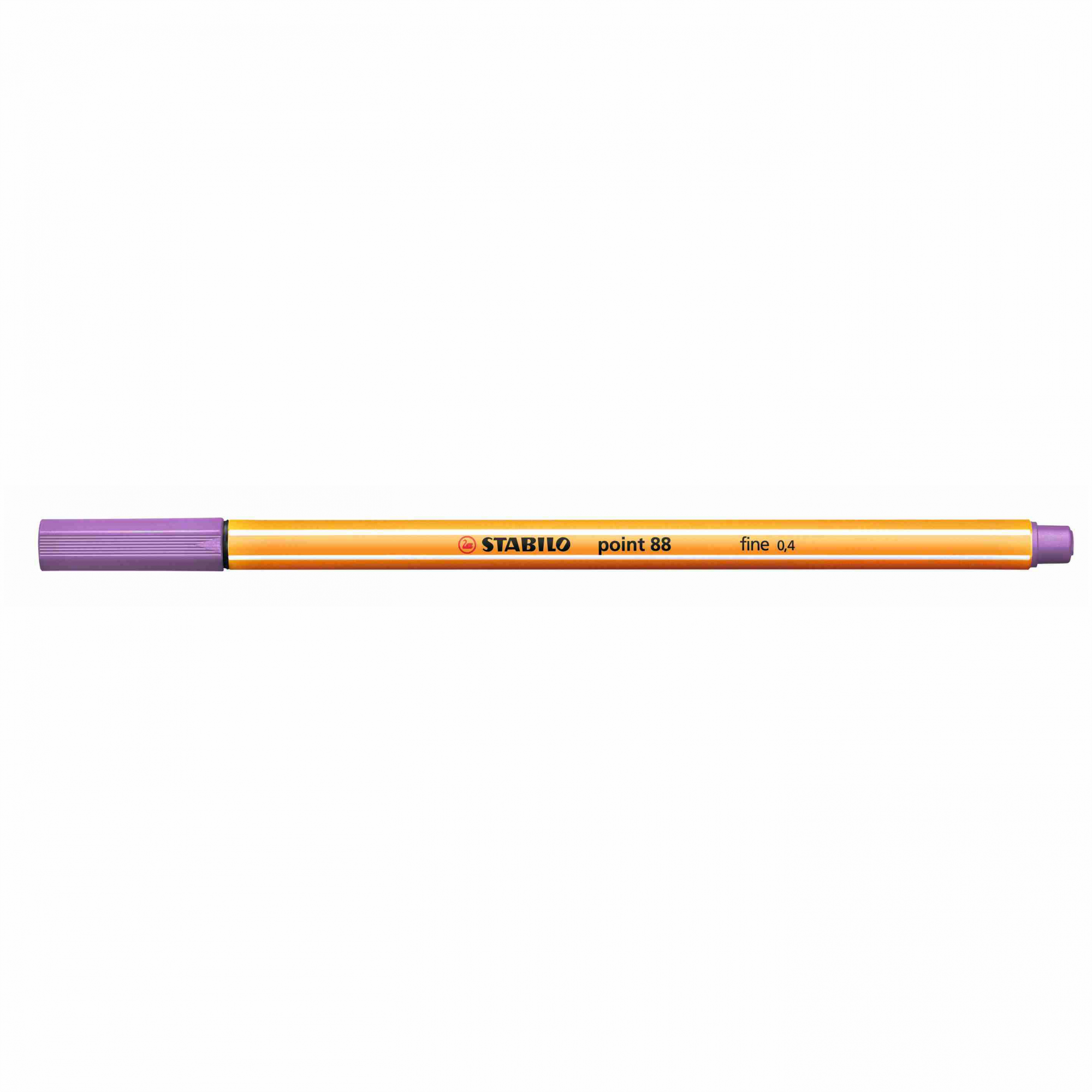 Caneta Hidrográfica 0.4 lilás claro POINT 88 Stabilo