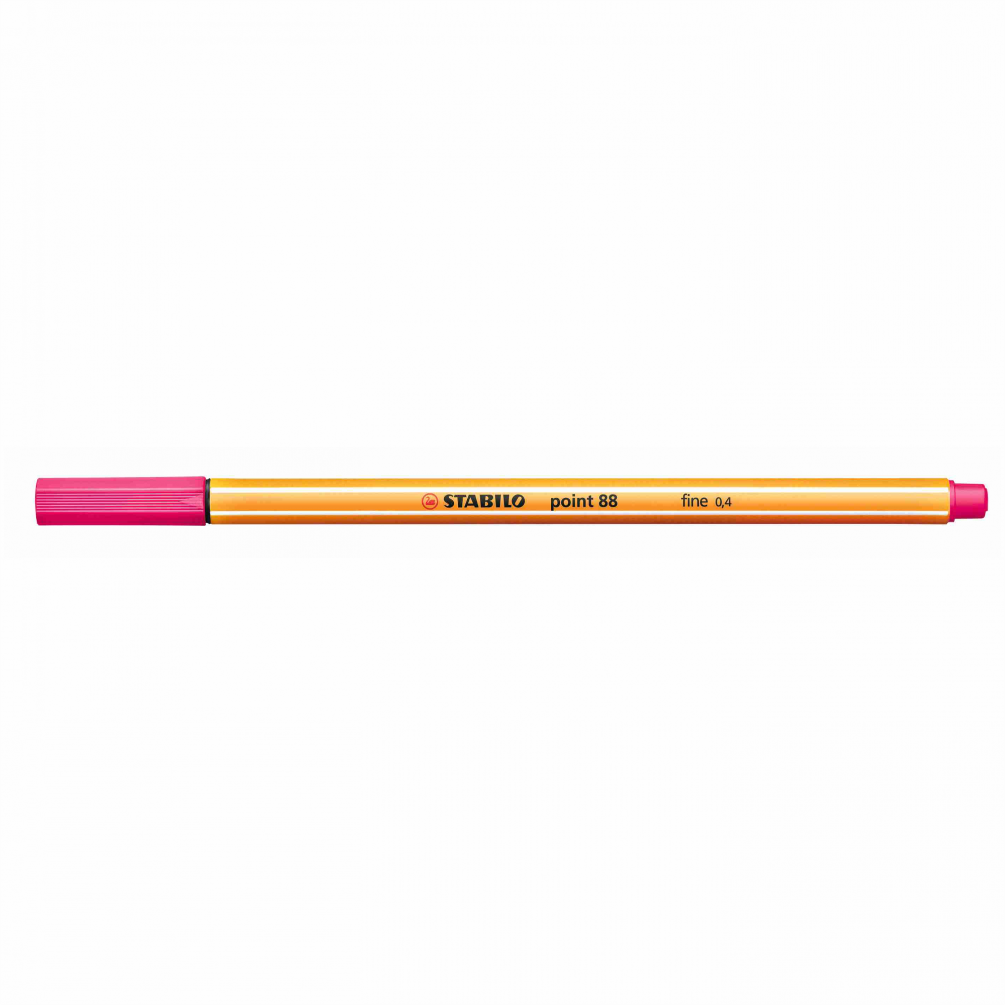 Caneta Hidrográfica 0.4 rosa POINT 88 Stabilo