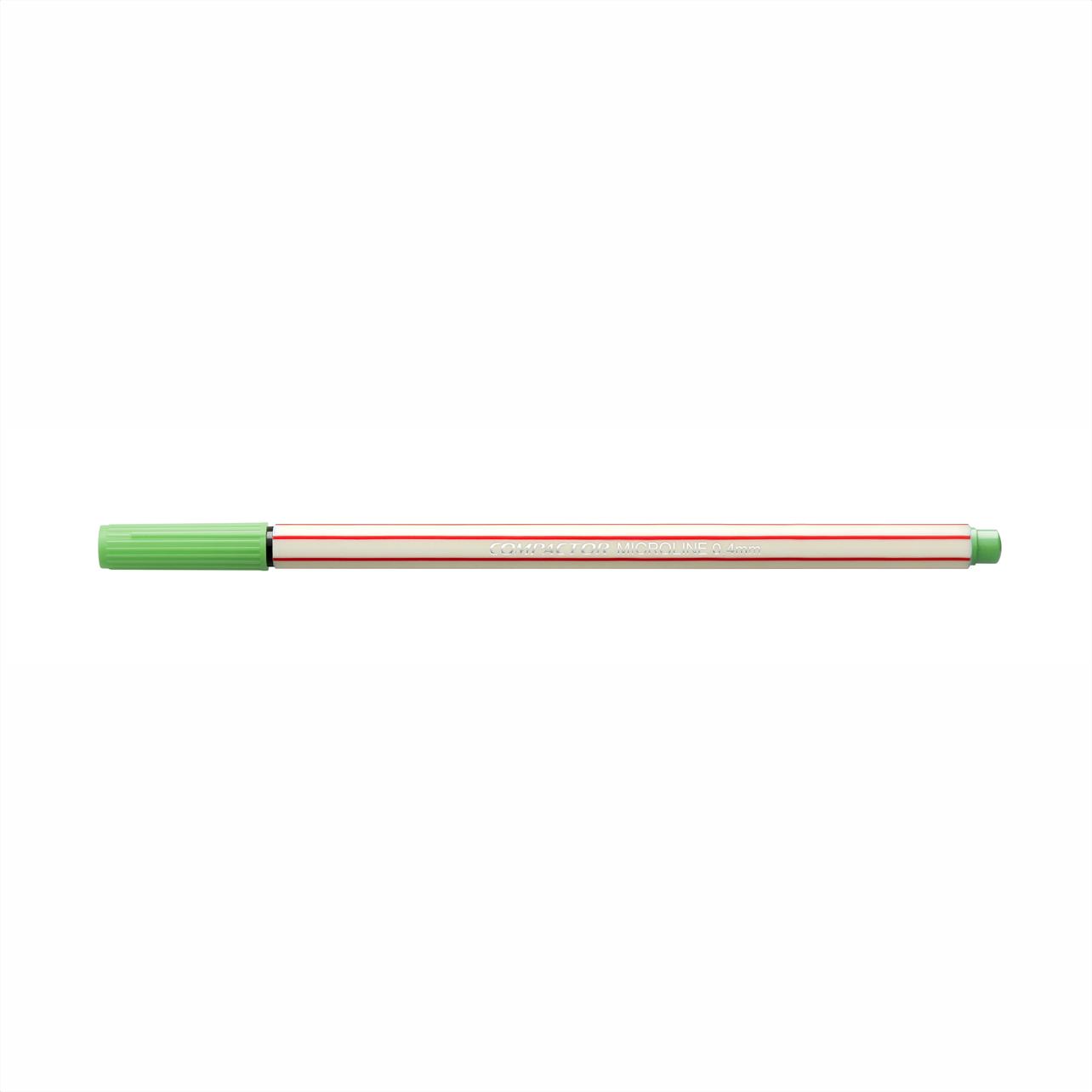 Caneta Hidrográfica 0.4 verde claro MICROLINE Compactor