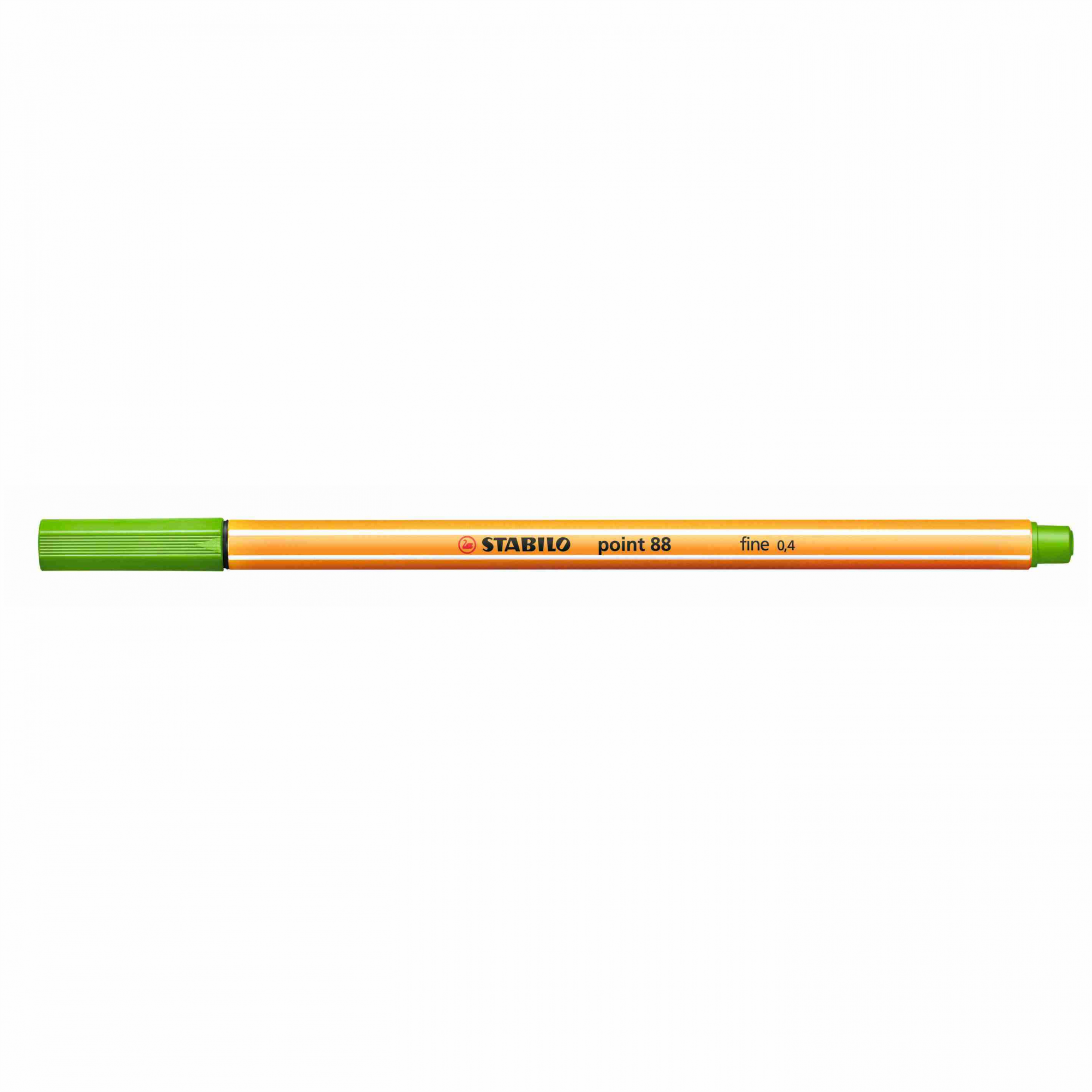 Caneta Hidrográfica 0.4 verde claro POINT 88 Stabilo