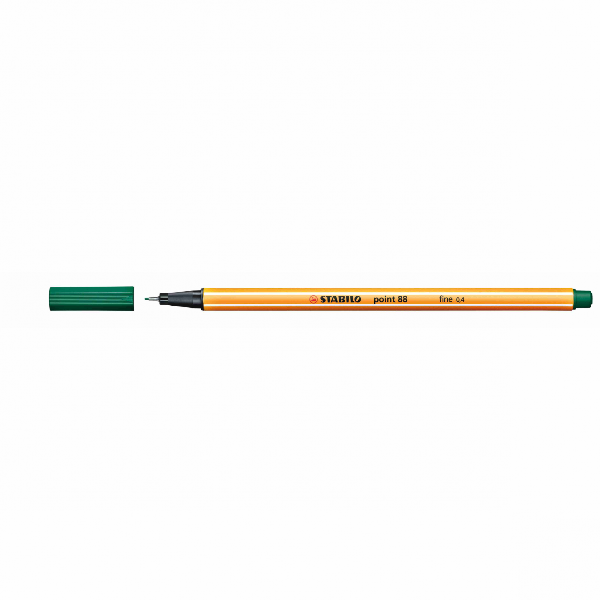 Caneta Hidrográfica 0.4 verde escuro POINT 88 Stabilo