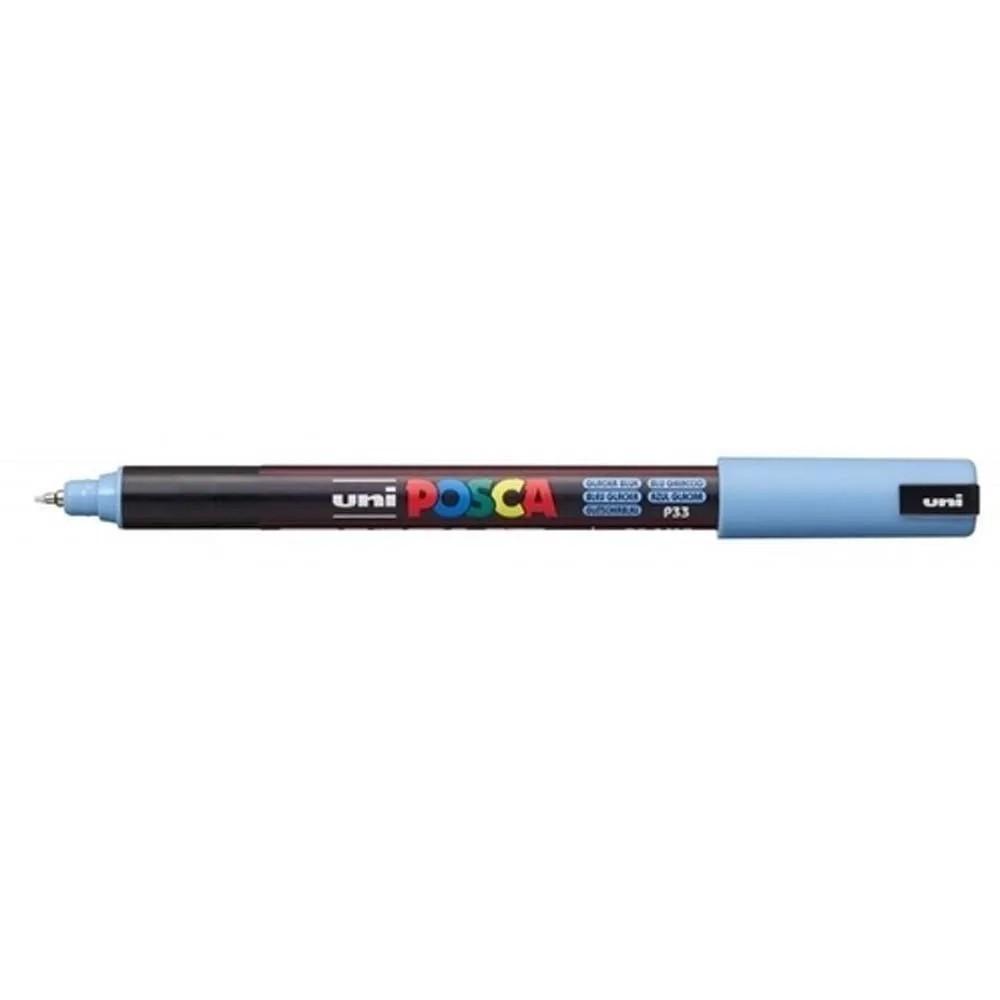 Caneta Posca 0.7 Azul Glacial PC-1MR Uni