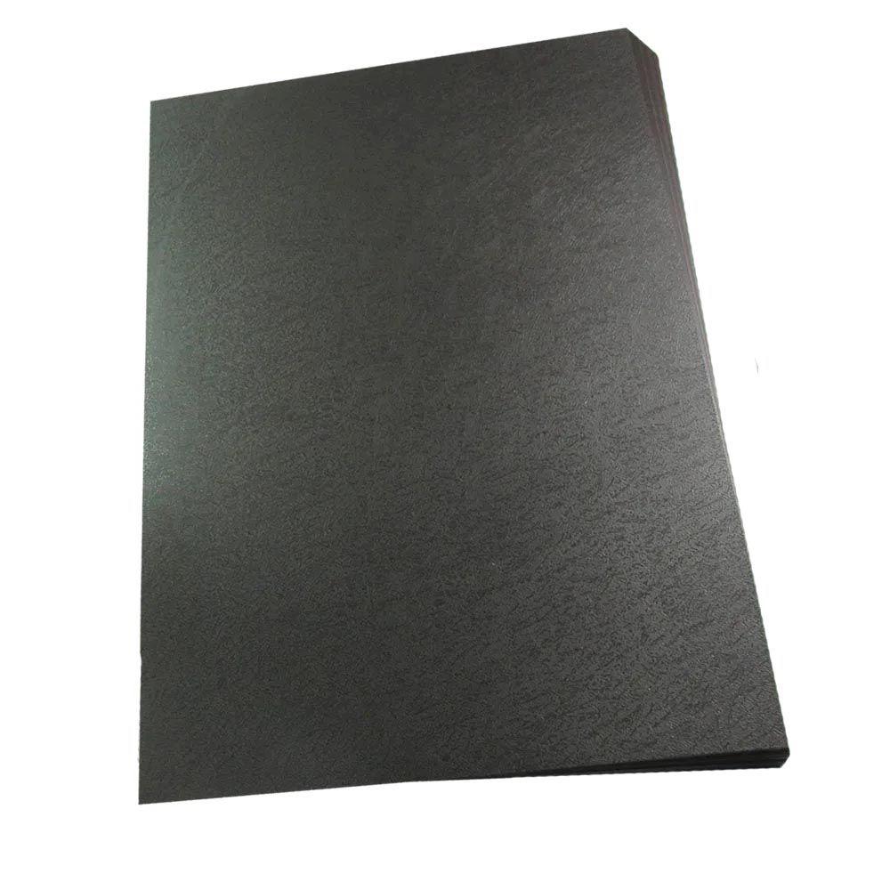 Capa encadernação A4 100 folhas preto