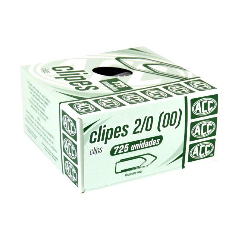 Clips 2/0 galvanizado 725 un Acc