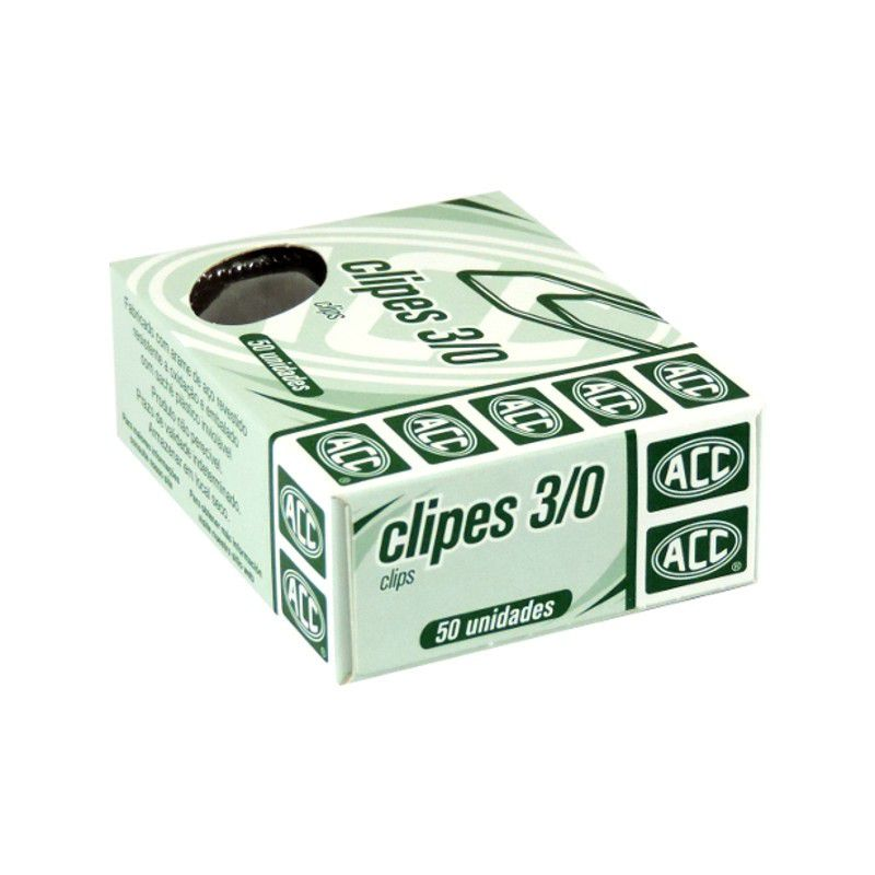Clips 3/0 galvanizado 50 un Acc