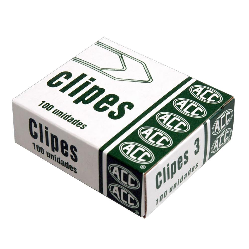 Clips 3 galvanizado 100 un Acc