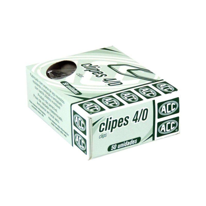 Clips 4/0 galvanizado 50 un Acc