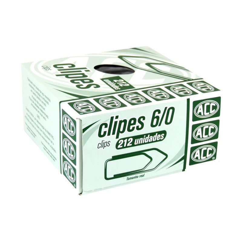 Clips 6/0 galvanizado 212 un Acc