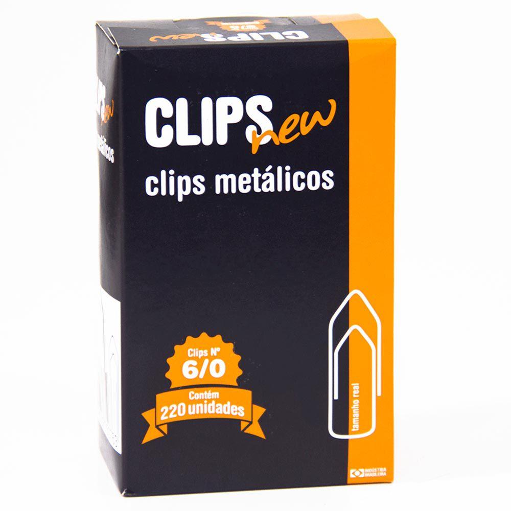 Clips 6/0 galvanizado 220 un New