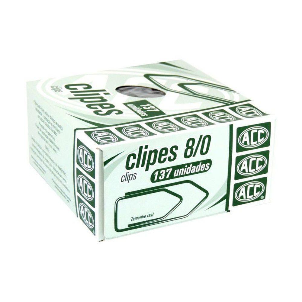 Clips 8/0 galvanizado 137 un Acc