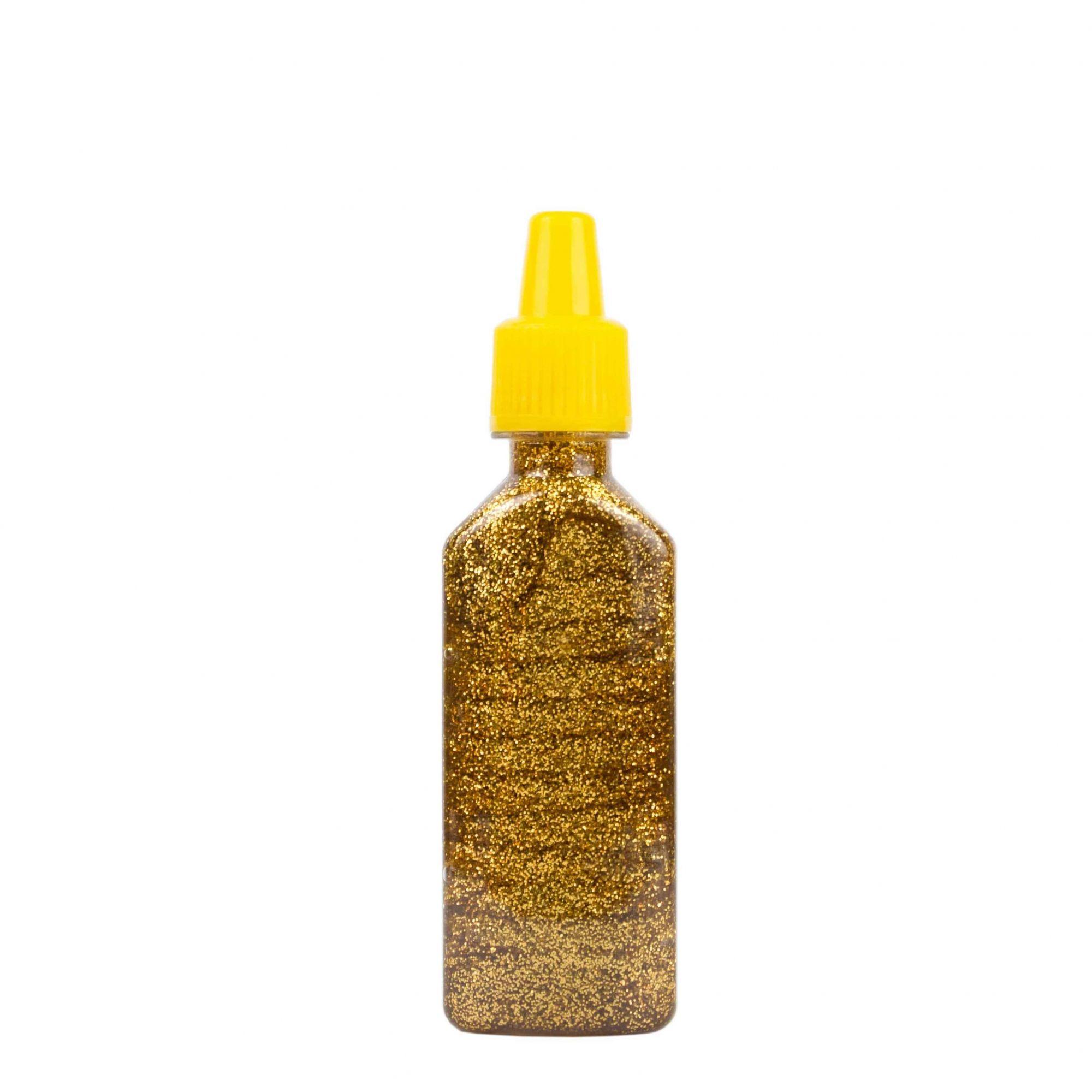 Cola glitter 23g ouro Acrilex