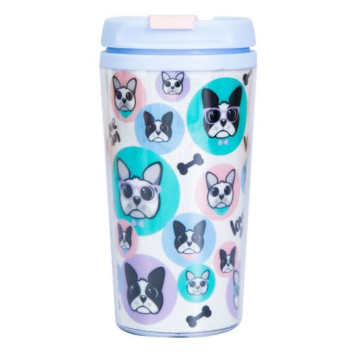 Copo térmico 200 ml love dog pop Uatt