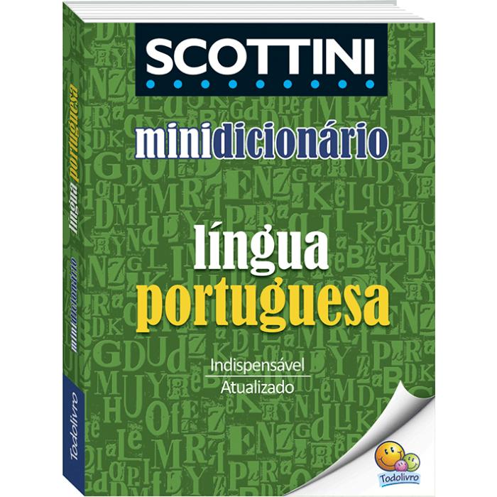 Dicionário português mini SCOTTINI Todolivro