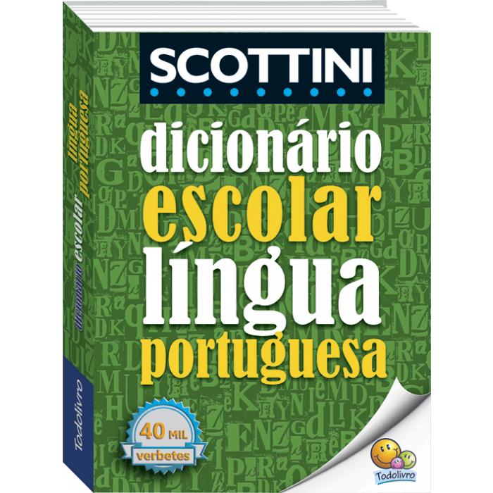 Dicionário português SCOTTINI Todolivro