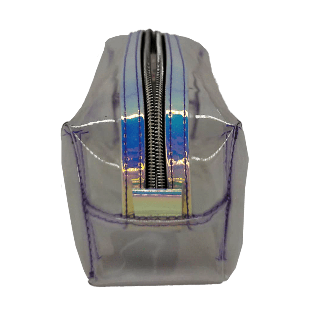 Estojo escolar holográfico transparente Fizz