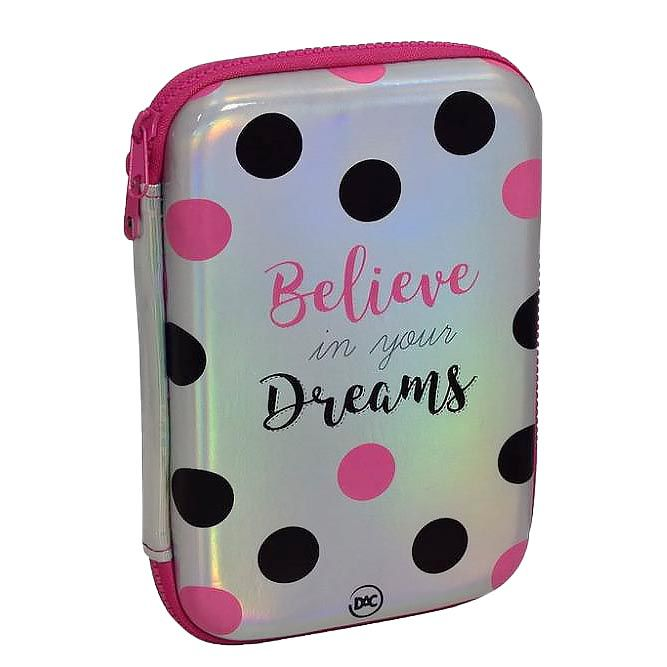 Estojo escolar box Believe Dac