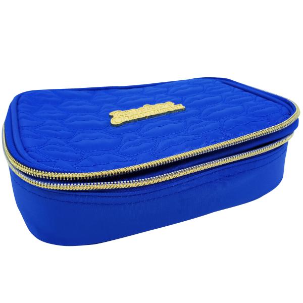 Estojo escolar box penelope charmosa azul Luxcel