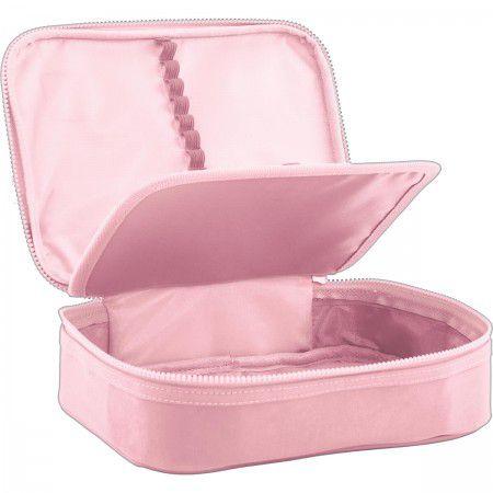 Estojo escolar box rosa ACADÉMIE Tilibra