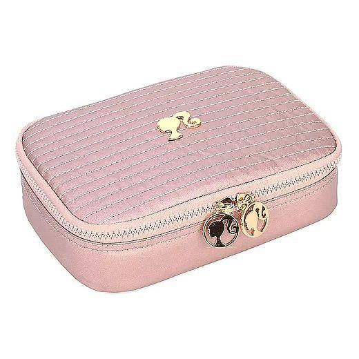 Estojo escolar box rose barbie Luxcel