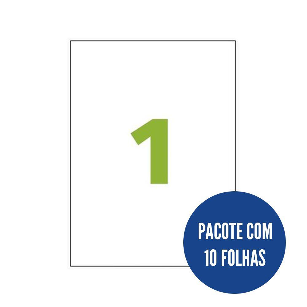 Etiqueta Nº1 10 folhas Colacril