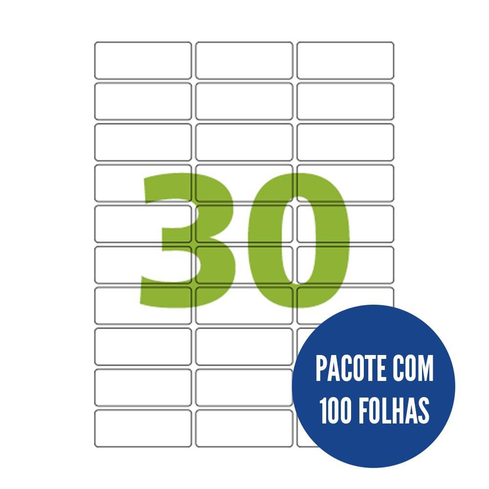 Etiqueta Nº30 100 folhas Colacril