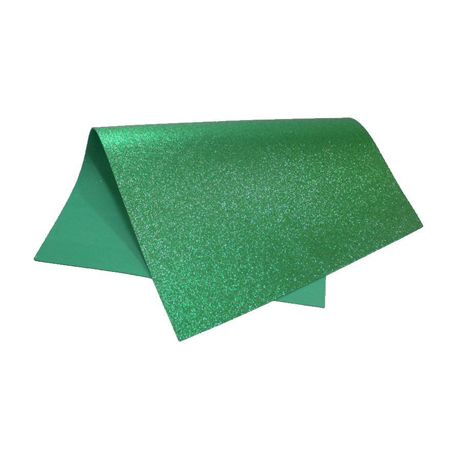EVA glitter 40x60 verde Dubflex