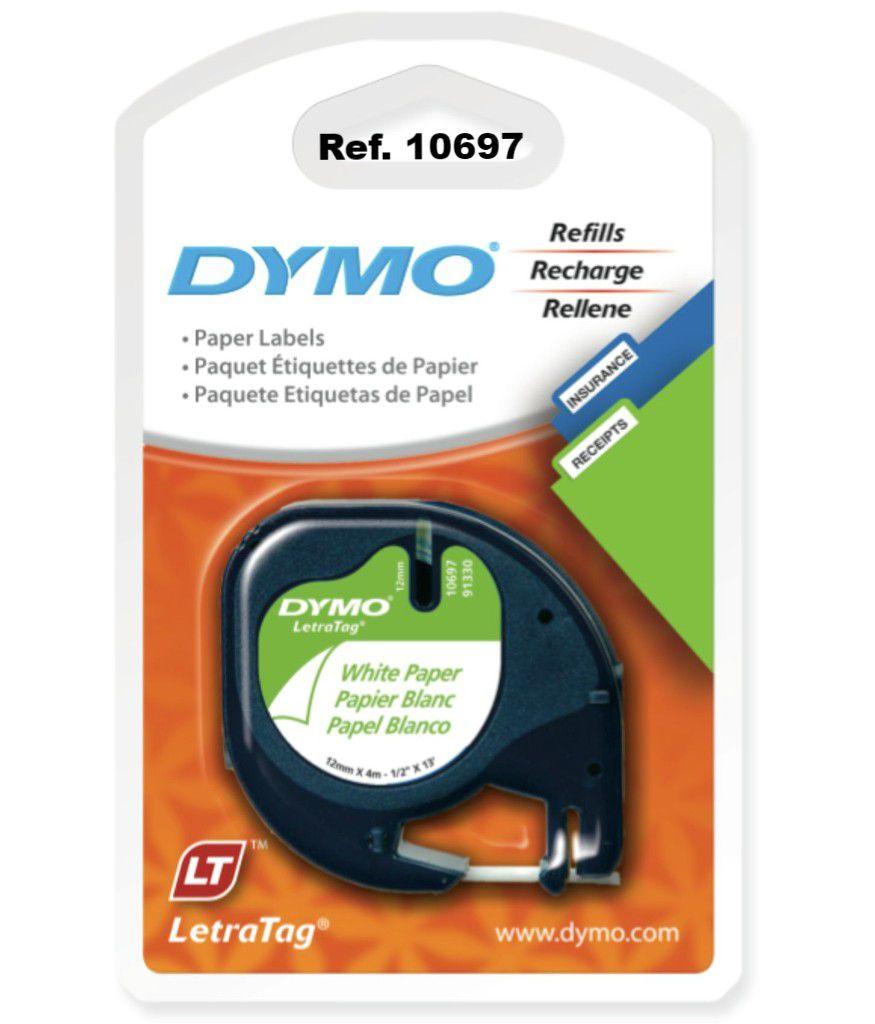 Fita rotuladora 12mmx4m 2 un Dymo