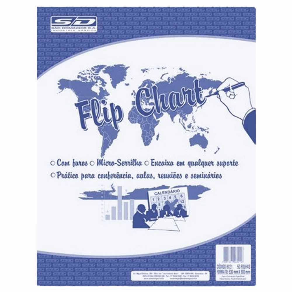 Flip Chart 50 fls 63g São Domingos